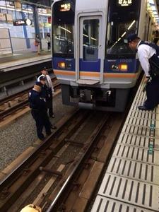 【大阪】「電車の人身事故で人が消えた!?」 その真相とは…南海本線泉大津駅
