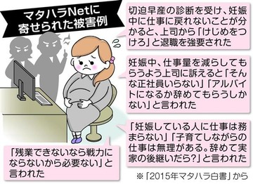 【札幌】40代女性「妊娠しました」 上司「想像妊娠ではないのか」 → マタハラ認定され77万円の賠償命令 → 「原告を心配した発言なのに遺憾だ」