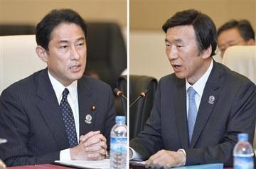 「朴大統領の名誉傷つけた」 産経新聞の記事に対して、韓国・尹外相が岸田外相に抗議