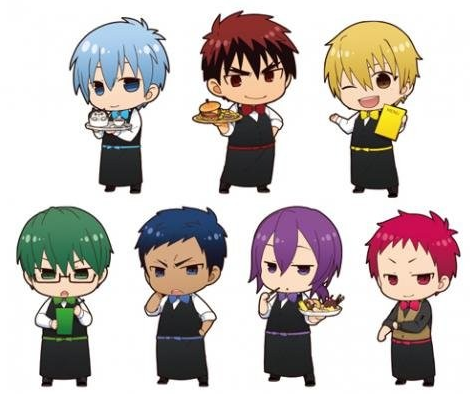 「黒子のバスケ」のアニメイトカフェ劇場化記念コラボカフェが開催決定!