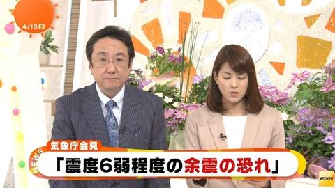 【熊本で震度7】震度7の地震の後、震度6強の余震で長周期地震動の大きさが最大『階級4』を史上初で観測! 今後、震度6弱の余震が1週間程度発生する恐れあり