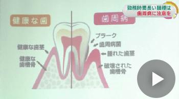 本日11月8日は「いい歯の日」!歯周病になりやすい職種別を分析した結果→休憩を取りにくい職業の人がなりやすいことが判明・・