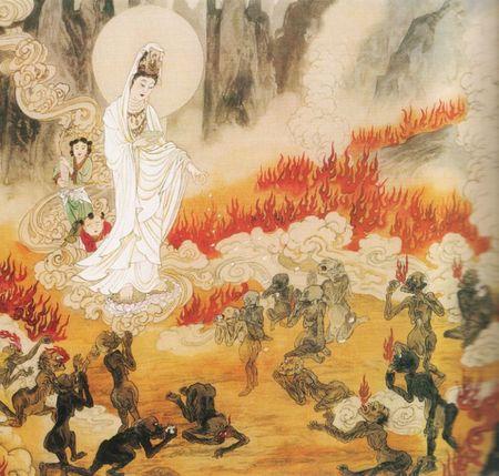 【画像あり】地獄絵図で、自分も針の山に刺さっている鬼がいたんだけどwwwwwwwwwwwwww