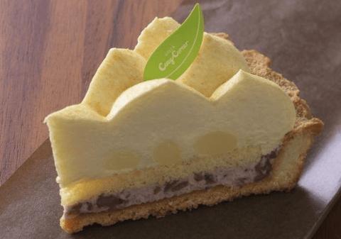 銀座コージーコーナーからチーズムースにつぶあんクリーム、きなこを合わせた「和の味わいチーズタルト」が登場!