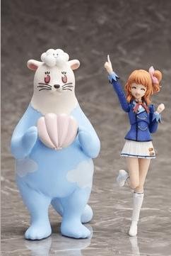 アニメ「アイカツ!」より「大空あかり」のフィギュアが登場!「おおぞラッコくん」も付属