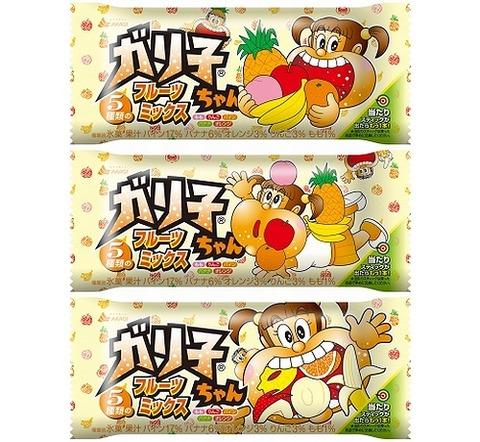 ガリガリ君の妹「ガリ子ちゃん」の新フレーバー「ガリ子ちゃんフルーツミックス」が登場!