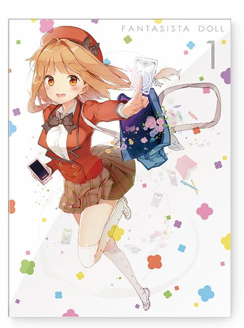 【ファンタジスタドール】BD/DVD第1巻ジャケット公開!BOX絵柄はラフレシアがハーレムすぎる!!