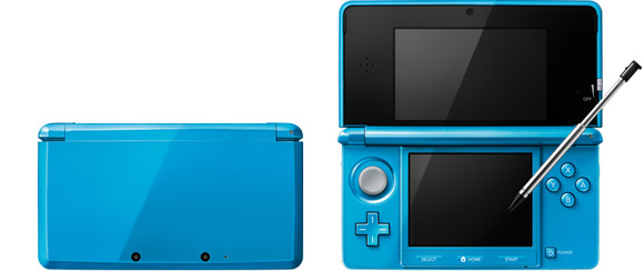 【3DS】新色『ライトブルー』『グロスピンク』予約開始!!どちらも4GBのSDHCメモリーカードが同梱!!