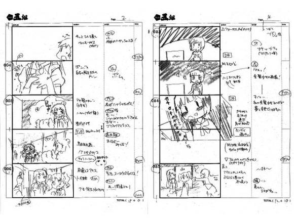 【きんいろモザイク】《悲報》アニメ最新話(第4話)の絵コンテがオークションに出品・・・