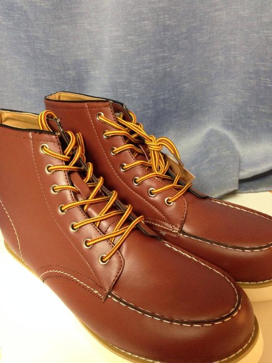 【画像】 楽天の優勝セールで3000円のブーツ買った結果wwwwww