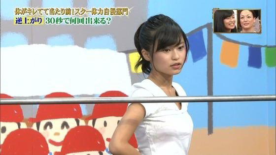 【画像】小島瑠璃子が逆上がりするだけでエロいwww
