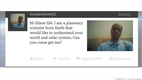 【宇宙】アメリカの企業、「宇宙人へのメッセージ」募集開始…地球から17光年離れた「グリーゼ526」に向けて発信