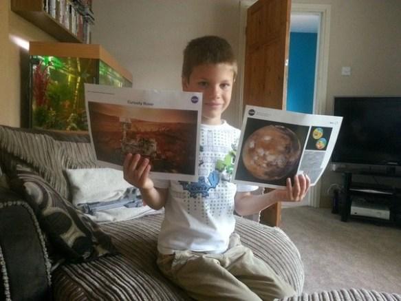 【英国】「どうしたら宇宙飛行士になれるのですか?」 7歳少年の手紙にNASAが真剣な返事