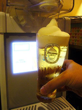 【グルメ】韓国でもビール「キリン一番搾りフローズン(生)」が人気