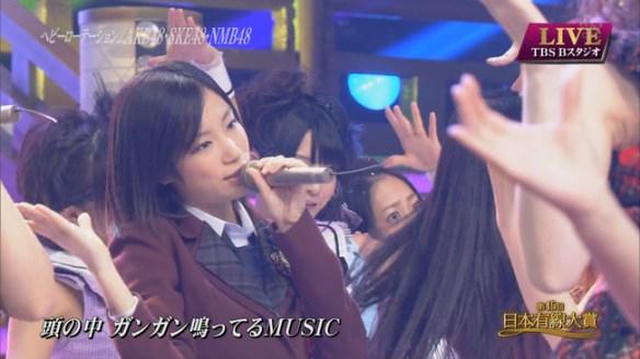 SKE48 有線大賞の矢神久美が美しかった・・・・。