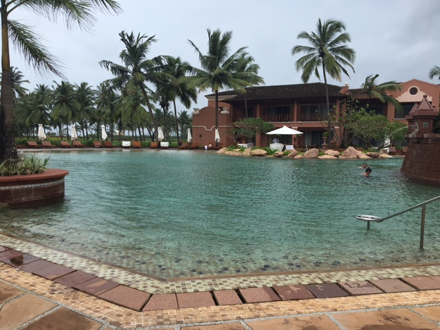 Hotel review park hyatt resort spa goa live from a lounge for Resorts in goa with private swimming pool