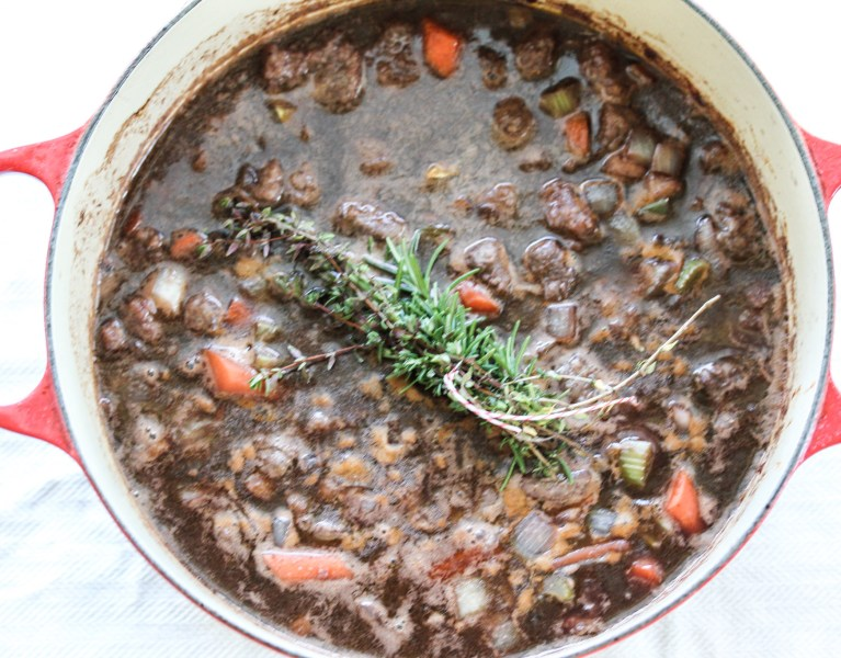 Beef Stew with Porcini