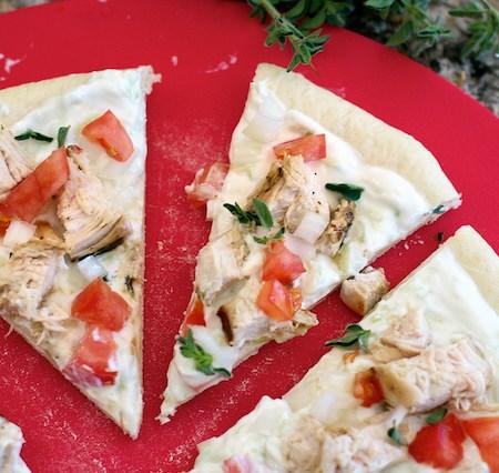 Chicken Gyros Pizza