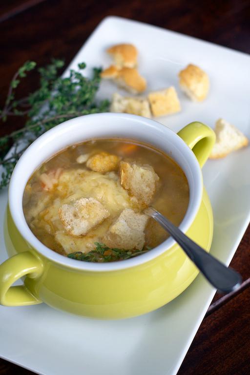 Cauliflower and Lentil Soup