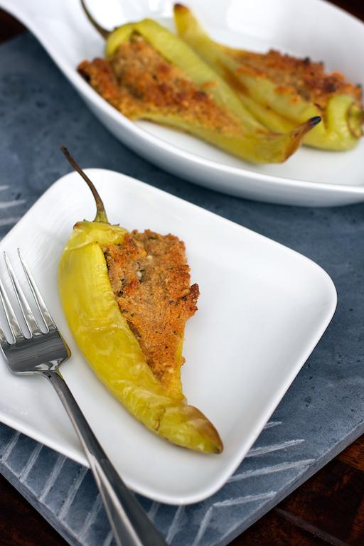 Italian Style Stuffed Banana Peppers