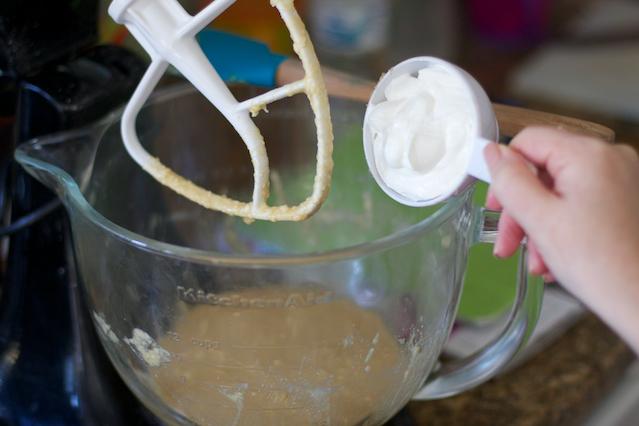 Add sour cream next