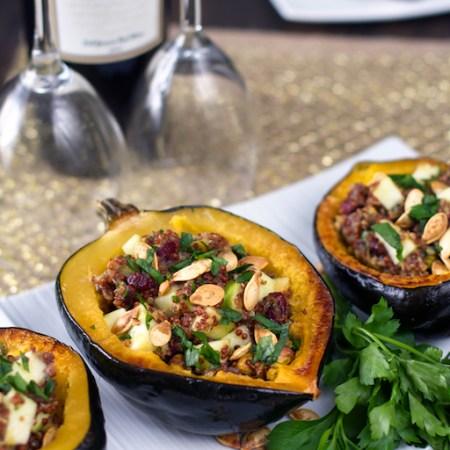 Quinoa Stuffed Acorn Squash