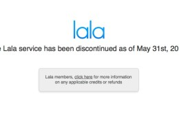 lala has shut down
