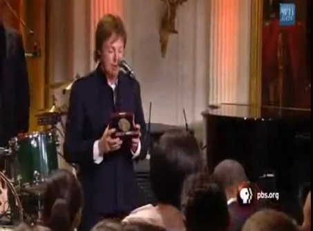 paul mccartney obama