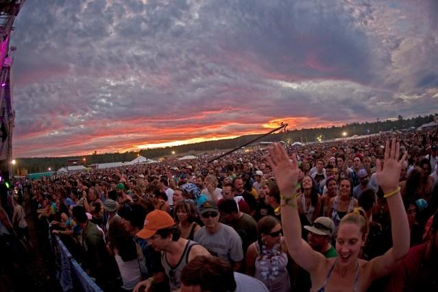 Crowd @ Nateva Music Festival 2010