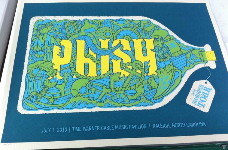 Phish Raleigh Poster