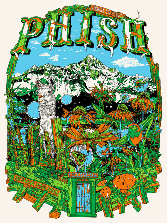 Phish Telluride Town Park Co 8 10 10 Live Music Blog