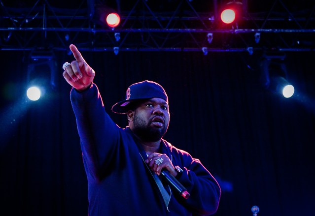 Raekwon @ Bank of America Pavilion, Boston 9/11/10