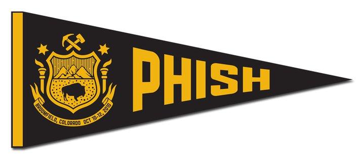 phish broomfield penant
