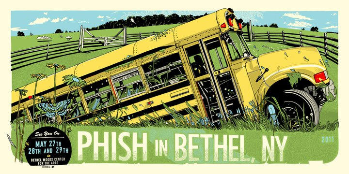phish at bethel 2011