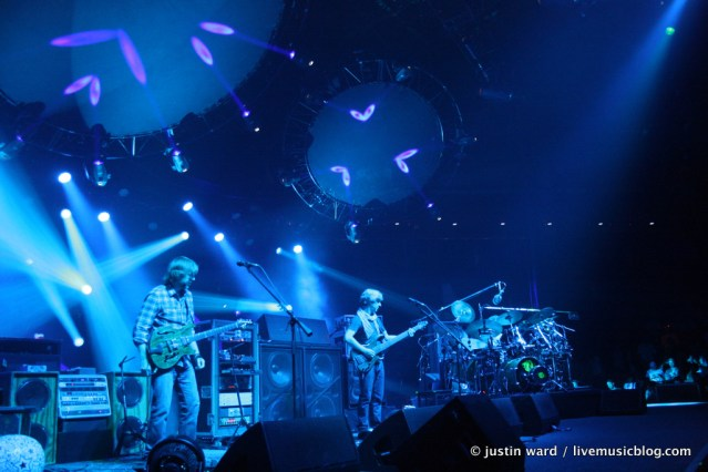 Phish @ UIC Pavilion, Chicago 8/15/11