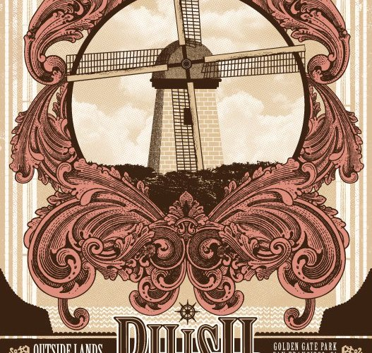 phish san francisco poster