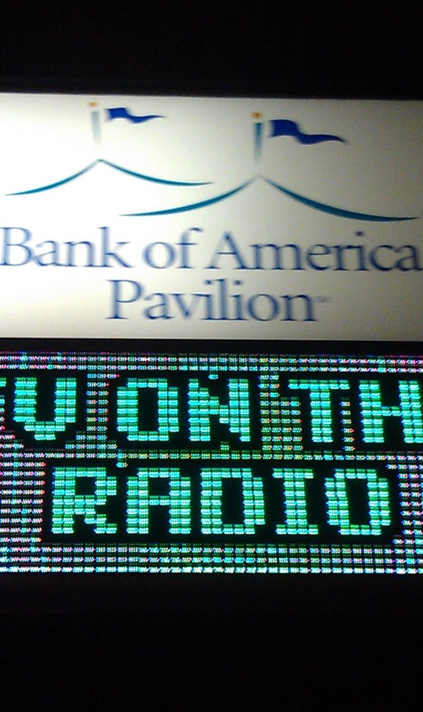 TV on the Radio @ Bank of America Pavilion Boston 9/6/11