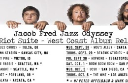 jacob fred jazz odyssey west coast tour