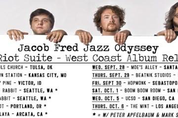 jacob fred jazz odyssey west coast tour