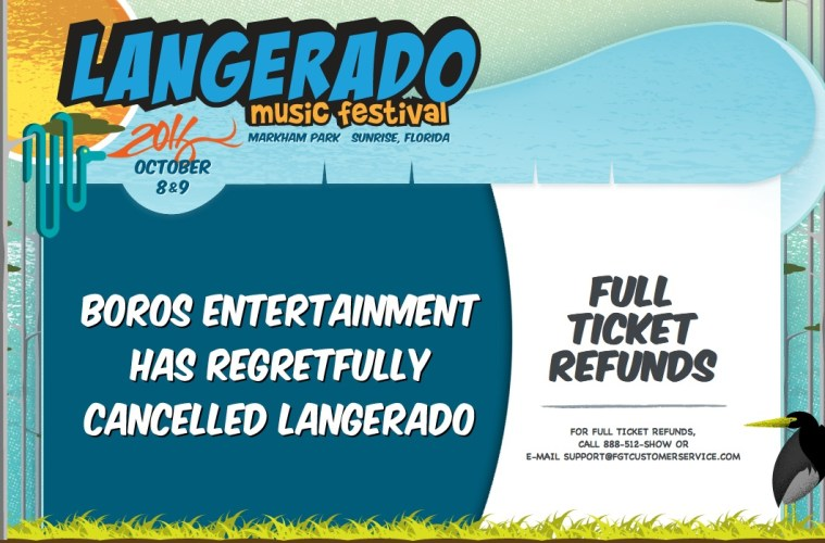 langerado cancelled