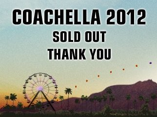 coachella 2012 sold out