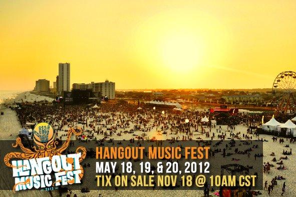 hangout music fest 2012
