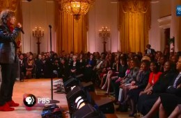 mick jagger at the white house