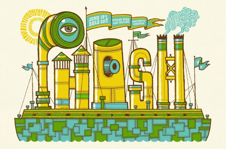 phish portsmouth poster