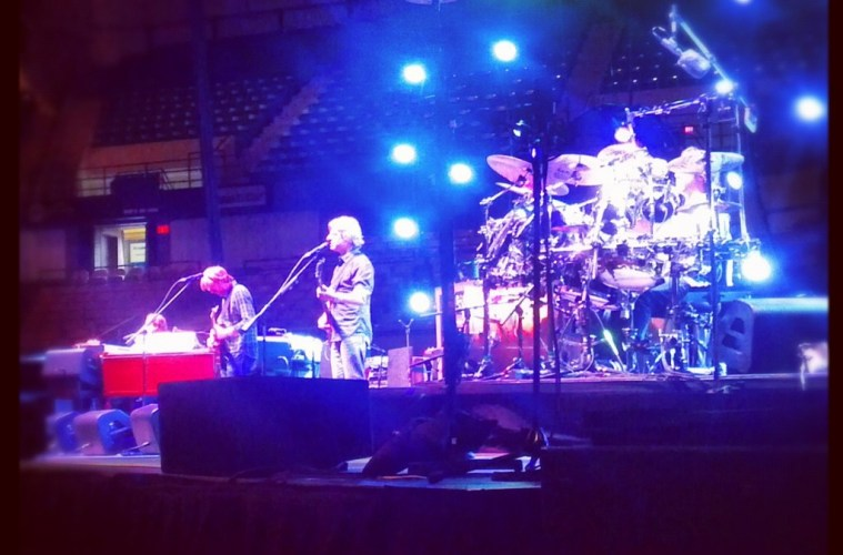 phish rehearsal at dcu
