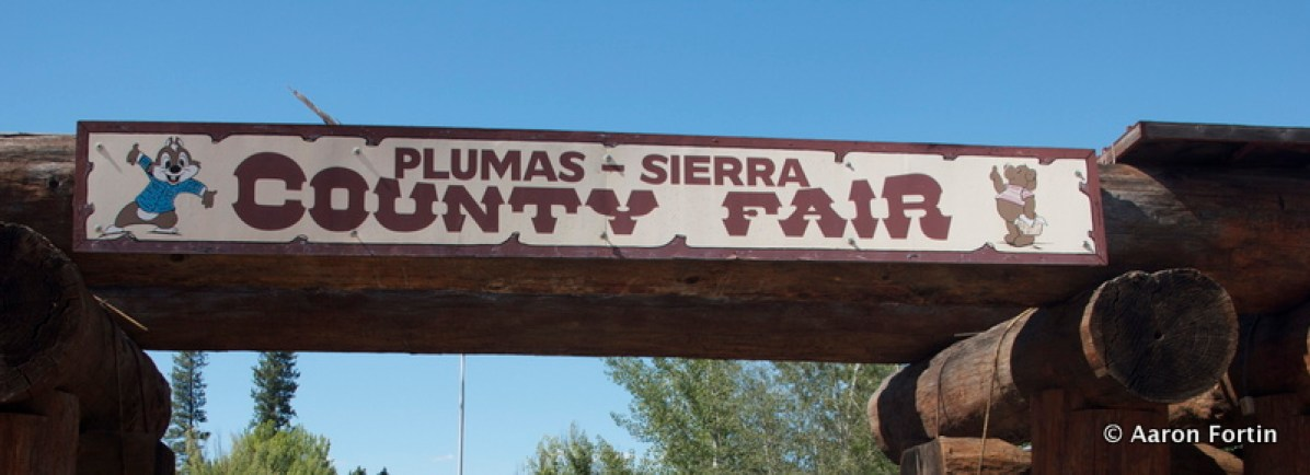 Entrance to High Sierra, The Plumas Fair Grounds