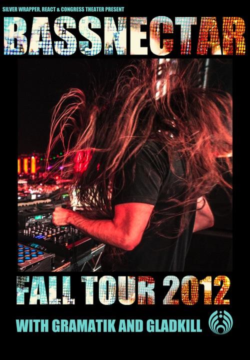 bassnectar fall tour with gramatik gladkill