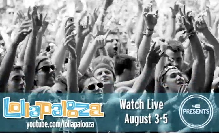 lollapalooza webcast schedule