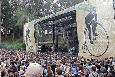Of Monsters and Men @ Outside Lands 2012 || Photo © Joseph Smith