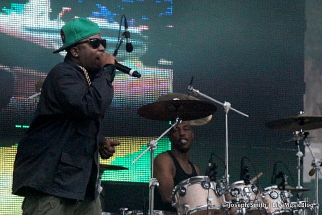 Big Boi @ Outside Lands 2012 || Photo © Joseph Smith